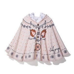 Beach People Butterfly Petite Poncho